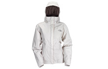 The North Face Women's Resolve Insulated Jacket, moonlight ivory